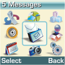 Samsung M110 - Voicemail - Manual configuration - Step 3