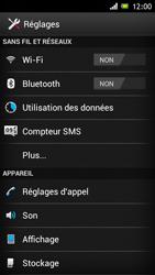 Sony ST26i Xperia J - Internet - activer ou désactiver - Étape 4