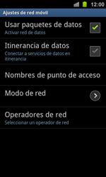 Samsung I8160 Galaxy Ace II - Red - Seleccionar una red - Paso 6