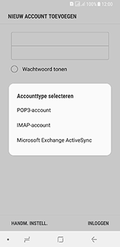 Samsung galaxy-a8-2018-sm-a530f-android-oreo - E-mail - Account instellen (POP3 met SMTP-verificatie) - Stap 9