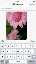 Apple iPhone 6 iOS 8 - MMS - hoe te versturen - Stap 12