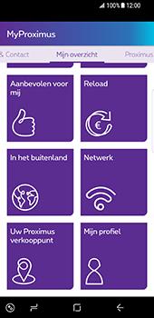 Samsung Galaxy S8 - Applicaties - MyProximus - Stap 17