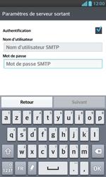 LG E975 Optimus G - E-mail - Configuration manuelle - Étape 15
