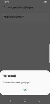 Samsung Galaxy S9 Android Pie - Voicemail - handmatig instellen - Stap 13