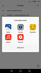 Huawei Y6 II - E-mail - Hoe te versturen - Stap 11
