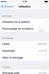 Apple iPhone 4S (iOS 8) - Applications - Supprimer une application - Étape 5