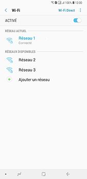 Samsung Galaxy A7 (2018) - Wifi - configuration manuelle - Étape 8