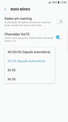 Samsung Galaxy S6 Edge - Android Nougat - Internet no telemóvel - Como ativar 4G -  7