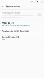 Samsung Galaxy A5 (2017) (A520) - Red - Seleccionar el tipo de red - Paso 6