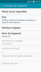 Samsung A300FU Galaxy A3 - Appareil - Mises à jour - Étape 6