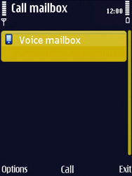 Nokia N86 - Voicemail - Manual configuration - Step 6
