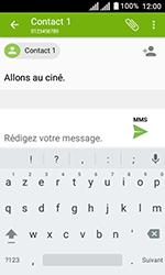 Alcatel U3 - Contact, Appels, SMS/MMS - Envoyer un MMS - Étape 12
