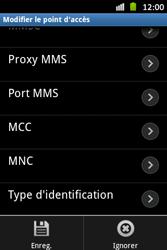 Samsung S6500D Galaxy Mini 2 - Internet - configuration manuelle - Étape 15