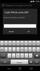 Sony Xpéria Z - Sécuriser votre mobile - Personnaliser le code PIN de votre carte SIM - Étape 7