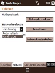 HTC T3333 Touch II - Buitenland - Bellen, sms en internet - Stap 8