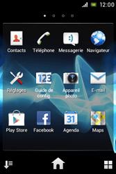 Sony ST23i Xperia Miro - E-mail - envoyer un e-mail - Étape 2