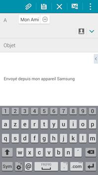 Samsung Galaxy Note 4 - E-mails - Envoyer un e-mail - Étape 8