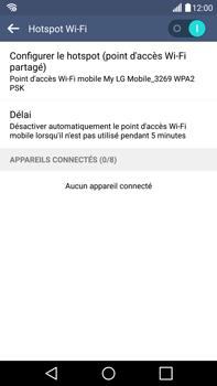 LG G4 - Internet et connexion - Partager votre connexion en Wi-Fi - Étape 11