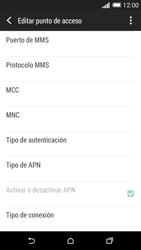 HTC One M8 - Internet - Configurar Internet - Paso 14