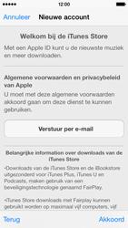Apple iPhone 5c - Applicaties - Account aanmaken - Stap 10