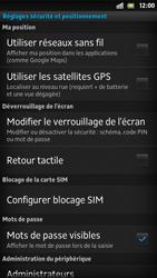 Sony Xpéria S - Sécuriser votre mobile - Activer le code de verrouillage - Étape 11