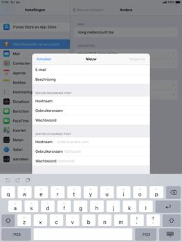 Apple ipad-air-10-5-inch-2019-model-a2123 - E-mail - Account instellen (IMAP met SMTP-verificatie) - Stap 13