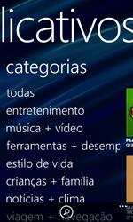Nokia Lumia 920 - Aplicativos - Como baixar aplicativos - Etapa 6