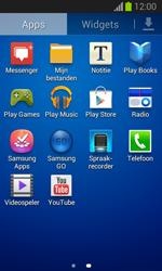 Samsung S7390 Galaxy Trend Lite - Voicemail - Handmatig instellen - Stap 3