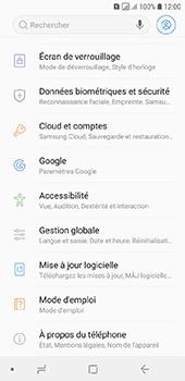 Samsung Galaxy A6 - Données - créer une sauvegarde avec votre compte - Étape 4