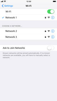 Apple iPhone 8 Plus - Wi-Fi - Connect to a Wi-Fi network - Step 7