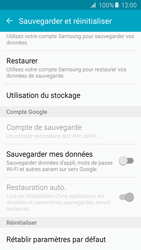 Samsung G903F Galaxy S5 Neo - Device maintenance - Retour aux réglages usine - Étape 6