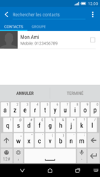 HTC One M9 - Contact, Appels, SMS/MMS - Envoyer un SMS - Étape 7