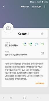 Samsung Galaxy A6 - Contact, Appels, SMS/MMS - Ajouter un contact - Étape 13