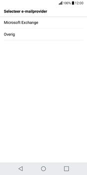 LG Q6 (LG M700n) - E-mail - Handmatig instellen - Stap 7