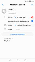 Huawei P10 Lite - Contact, Appels, SMS/MMS - Ajouter un contact - Étape 9