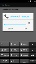 Acer Liquid Z410 - Voicemail - Manual configuration - Step 9