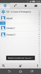 Sony D6503 Xperia Z2 - Contactgegevens overzetten - delen via Bluetooth - Stap 13