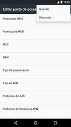 LG Google Nexus 5X (H791F) - Mensajería - Configurar el equipo para mensajes multimedia - Paso 15