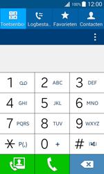 Samsung J100H Galaxy J1 - Voicemail - Handmatig instellen - Stap 4
