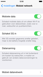 Apple iPhone 5c - Internet - handmatig instellen - Stap 6