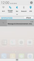 Huawei Ascend Y550 - Paramètres - Reçus par SMS - Étape 4