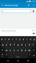 HTC Desire 610 - Contact, Appels, SMS/MMS - Envoyer un SMS - Étape 6