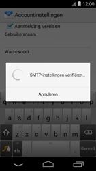 Acer Liquid E600 - E-mail - e-mail instellen: POP3 - Stap 15