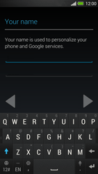 HTC One - Applications - Create an account - Step 6