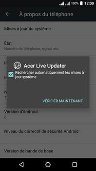 Acer Liquid Zest 4G Plus Double SIM - Appareil - Mises à jour - Étape 7
