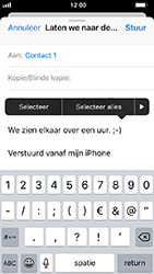 Apple iPhone 5s - iOS 12 - E-mail - hoe te versturen - Stap 9