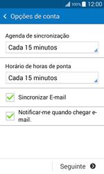 Samsung Galaxy Core II - Email - Configurar a conta de Email -  17