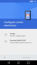 LG K10 4G - E-mail - Configurar Gmail - Paso 8