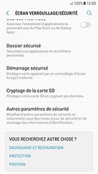 Samsung Galaxy J3 (2017) - Sécuriser votre mobile - Personnaliser le code PIN de votre carte SIM - Étape 5