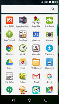 Acer Liquid Zest 4G Plus - E-mail - Manual configuration POP3 with SMTP verification - Step 4